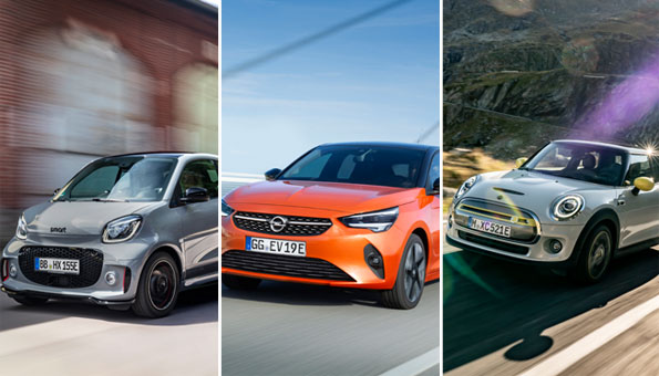 Elektroautos 2020: Die E-Autos des Jahres