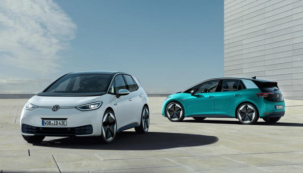 VW ID.3 gehört zu den Neuheiten bei den Elektroautos 2020