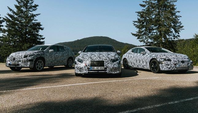 Die EQ Modelle von Mercedes Benz Elektroautos 2021