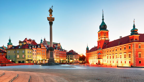 Nachtzug Wien Warschau