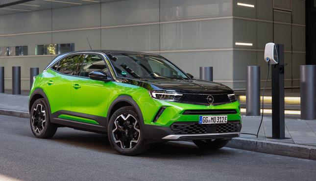 Opel Mokka-e elektroautos 2021