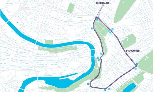 Die Strecke des Swiss E-Prix am 22. Juni 2019 in Bern