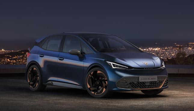 Seat Cupra El-Born Elektroautos 2021