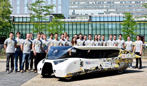 Solarauto Stella Lux: Studenten entwickeln innovatives Design