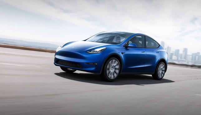 Tesla Model Y Elektroauto 2021