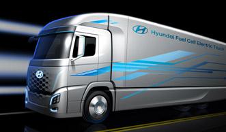 Weltweit erste Wasserstoff-LKW-Flotte bald in der Schweiz unterwegs