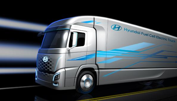 Wasserstoff-Antrieb für 1000 LKWs