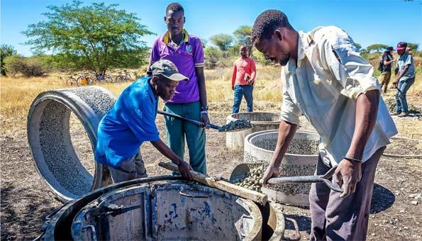 Brunnen bauen in Tanzania