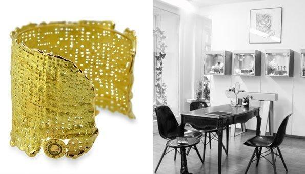 Beim Juwelier Lesunja in Zürich gibt es neben fairem Schmuck auch Workshops.