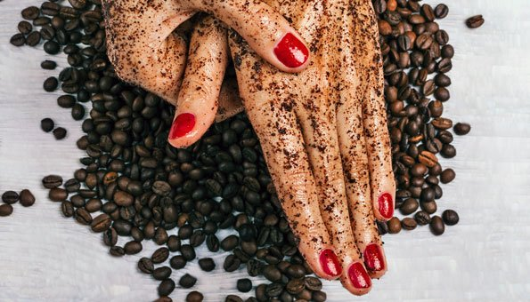 Kaffeesatz Peeling peeling 3 rezepte für zarte haut