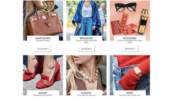 Second Hand online shoppen bei myprivateboutique.ch