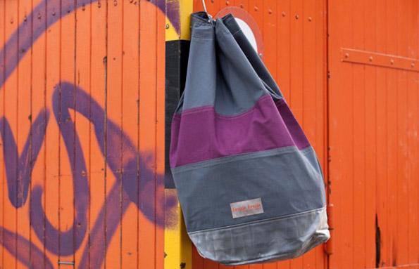 Upcycling-Tasche von Frischfrech