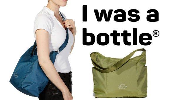 upcycling ideen diese coolen taschen bestehen aus pet flaschen. Black Bedroom Furniture Sets. Home Design Ideas