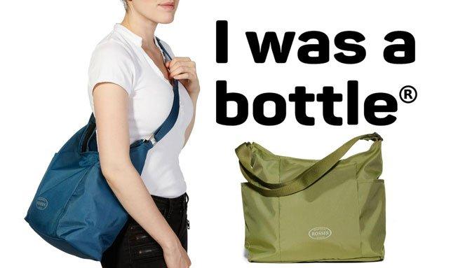 Diese Taschen waren vorher Plastikflaschen