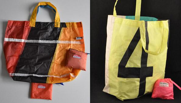 Upcycling-Einkaufstasche von ggz@work