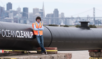 The Ocean Cleanup: Grösster Müllsammler startet Säuberung im Pazifik
