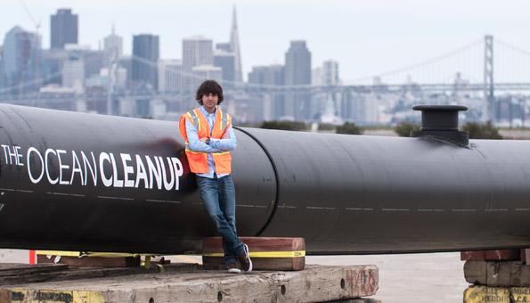 Boyan Slat will mit dem Projekt the Ocean Cleanup die Meere von Plastikmüll befreien