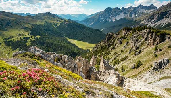 Der Schweizer Nationalpark ist das grösste Naturschutzgebiet der Schweiz
