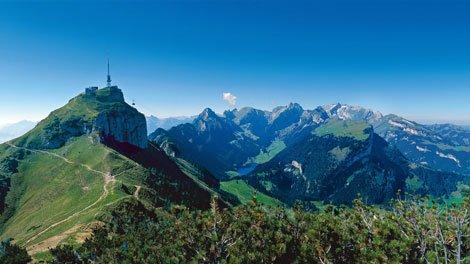 Wandern Appenzell: Hohen Kasten