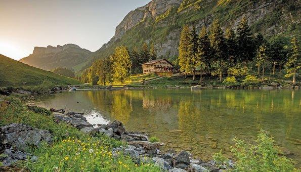 Wandern Appenzell: Schöne Routen vom Hohen Kasten bis Seealpsee