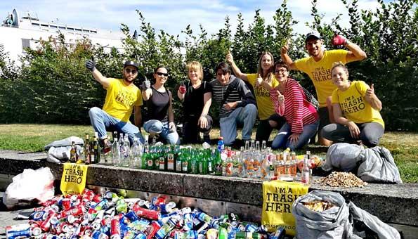 «Trash Heroes»: Diese Helden räumen freiwillig unsere Strassen auf