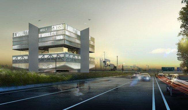 In Basel entsteht ein Innovationszentrum für Elektromobilität