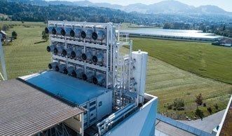 Weltpremiere: Schweizer Firma filtert CO2 aus der Luft