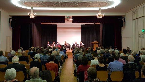 Crowdfinancing als Thema im Podium hatte viele Zuschauer