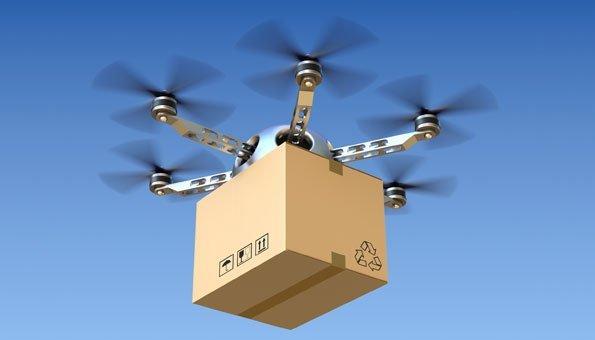 Drohnen liefern Pakete nachhaltiger aus – zumindest manchmal