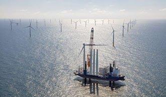 Zweitgrösster Offshore-Windpark Europas eröffnet in Holland