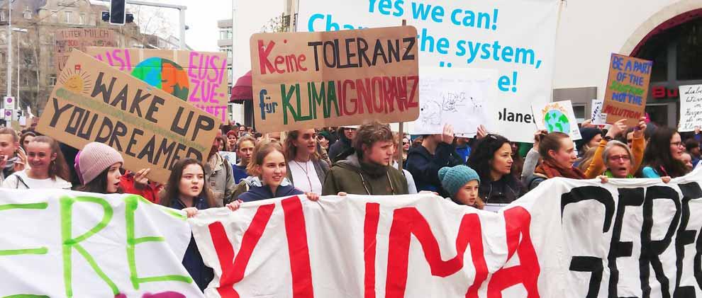 Erste weltweite Klimastreik-Konferenz in Lausanne geplant