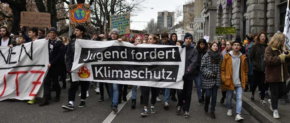 Klimastreik Schweiz: Jetzt gibt's für die Schüler ein Unentschuldigt