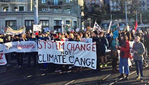 Klimastreik der Schüler wird zur offiziellen Klimademo