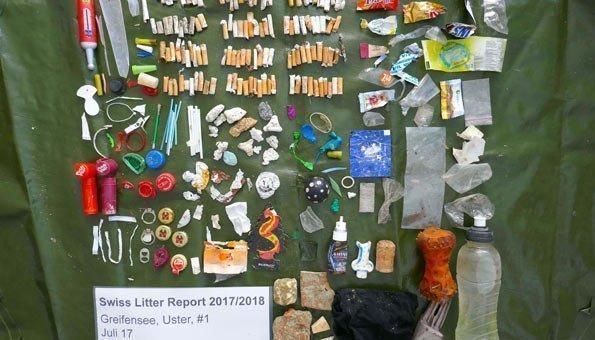 Plastikmüll belastet Schweizer Flüsse und Seen stark