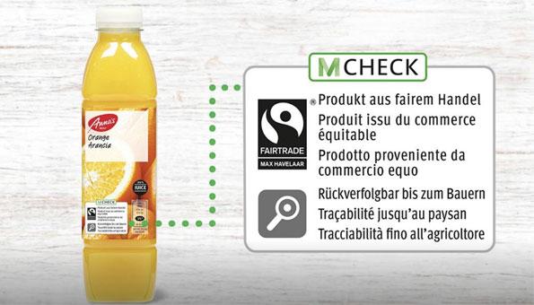 Migros Label M-Check nachhaltige Labels