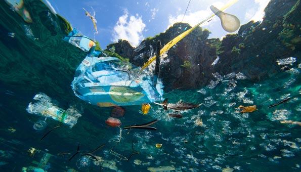 Mikroplastik heizt Klima zusätzlich auf