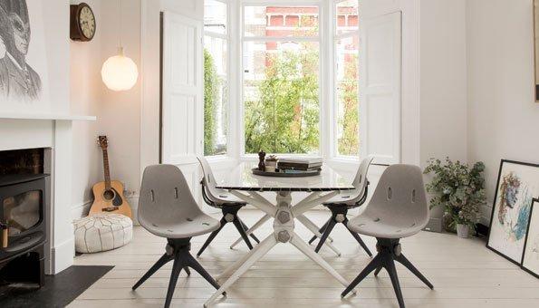 Upcycling auf hohem Niveau: Diese Möbel bestehen zu 100% aus Abfall