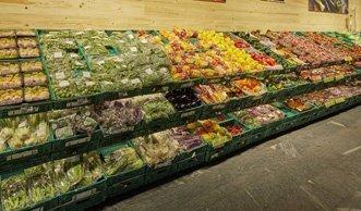 Bio-Früchte und -Gemüse gibt's beim Coop bald unverpackt