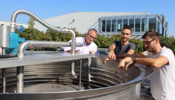 Raphael Iten und sein Team wollen Gülle umweltfreundlich machen