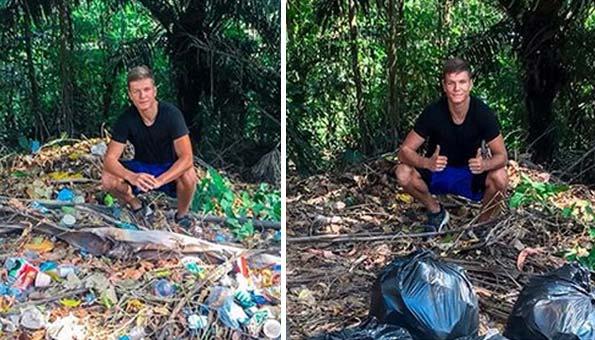 #Trashtag-Challenge: Dieser Internet-Trend befreit die Welt von Abfall