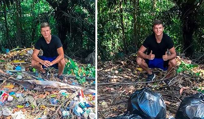 Weltweiter Internet-Trend befreit die Welt von Abfall