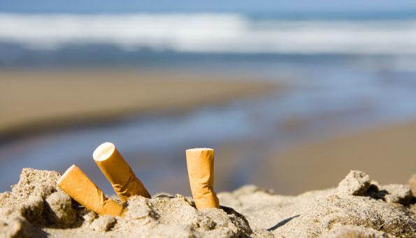 Meeresverschmutzung: Zigaretten sind schlimmer als Plastik