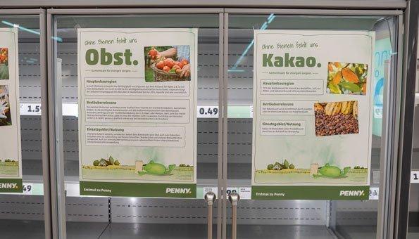 So wenige Lebensmittel hätten unsere Supermärkte ohne Bienen