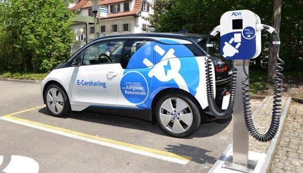 In Dottikon gibt es jetzt ein Elektroauto für alle