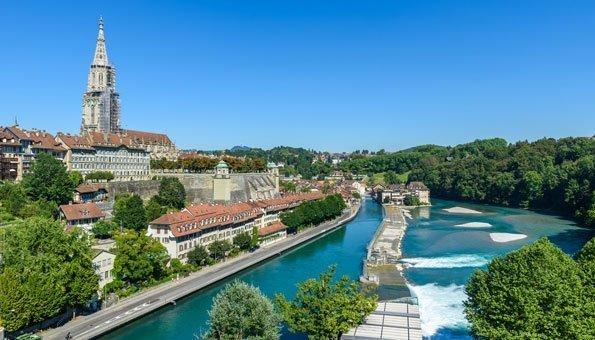 Zürich und Bern gehören zu den grünsten Städten der Welt