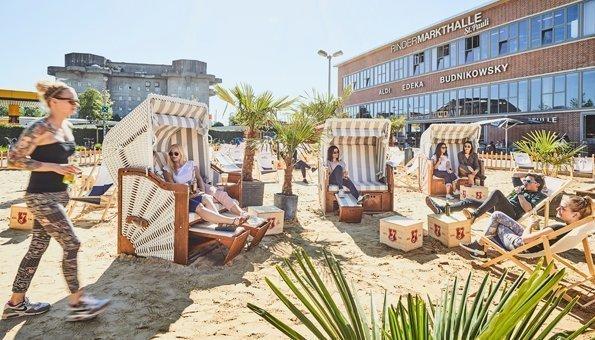 Der erste Zero Waste Beach Club hat in Deutschland eröffnet
