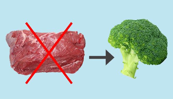 Weniger Fleisch essen: Dieser Rechner zeigt, wie viel Wasser, CO2 und Antibiotika Sie sparen