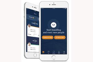 Mit Carpool App Idosh Fahrgemeinschaften bilden