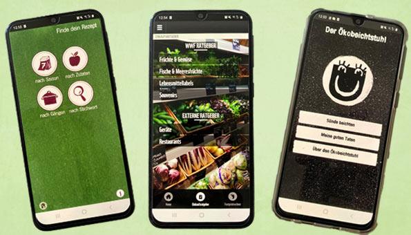Die besten Apps für mehr Nachhaltigkeit im Alltag