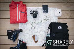 Leihen und mieten mit der online Plattform Sharely